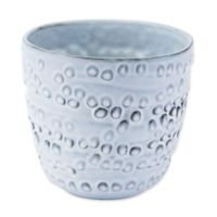 Zuo® Small Circles Planter in Off-White