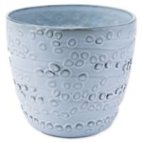 Zuo® Large Circles Planter in Off-White