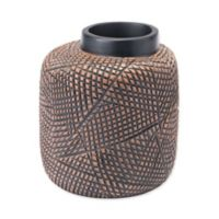 Zuo Cuadra Small Vase in Brown