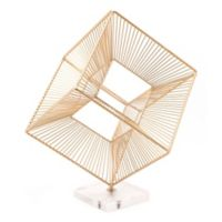 Zuo® Modern Cuadrado Figurine in Gold