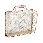 Zuo Cartas Wall Tote in Gold