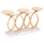 Zuo® Infinity Candle Holder in Gold
