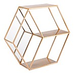 Zuo® Modern Bee Shelf in Gold