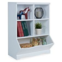 Danya B. Multi-Bin Storage Cubby in White