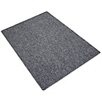 "Drymate® Litter Trapping 20"" x 28"" Corner Mat in Charcoal Grey"