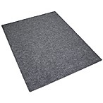 "Drymate® Litter Trapping 36"" x 28"" Corner Mat in Charcoal Grey"