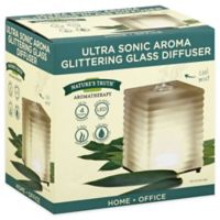 Nature's Truth® Ultra Sonic Aroma Glittering Glass Diffuser