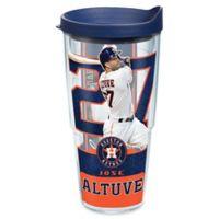 Tervis® MLB Houston Astros Jose Altuve 24 oz. Wrap Tumbler with Lid