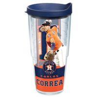 Tervis® MLB Houston Astros Carlos Correa 24 oz. Wrap Tumbler with Lid