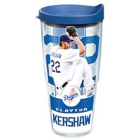Tervis® MLB Los Angeles Dodgers Clayton Kershaw 24 oz. Wrap Tumbler with Lid
