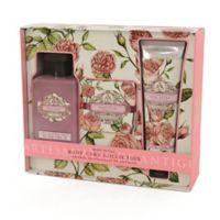 Aromas Artesanales De Antigua 3-Piece Rose Petal Body Care Collection
