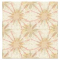 A-Street Prints Iris Shibori Wallpaper in Pink