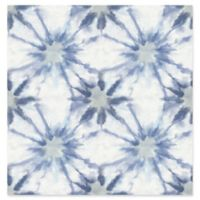 A-Street Prints Iris Shibori Wallpaper in Indigo