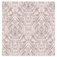 A-Street Prints Gypsy Damask Wallpaper in Pink