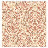 A-Street Prints Gypsy Damask Wallpaper in Coral