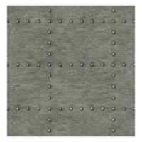 Brewster Home Fashions Otto Hammered Metallic Wallpaper in Pewter