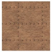 Brewster Home Fashions Otto Hammered Metallic Wallpaper in Copper