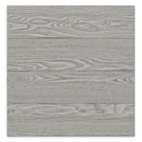 A-Street Prints Salvaged Wood Plank Wallpaper in Grey