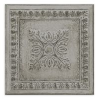 A-Street Prints Ornamental Tin Tile Wallpaper in Grey