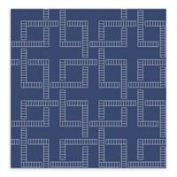 Brewster Home Theory Geometric Wallpaper in Indigo