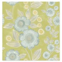 A-street Prints Catalina Bloom Floral Wallpaper in Green