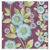 A-street Prints Catalina Bloom Floral Wallpaper in Plum