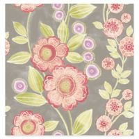 A-street Prints Catalina Bloom Floral Wallpaper in Pink