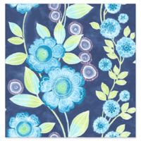 A-street Prints Catalina Bloom Floral Wallpaper in Blue