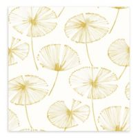 A-Street Paradise Fronds Wallpaper in Gold