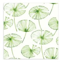A-Street Paradise Fronds Wallpaper in Green