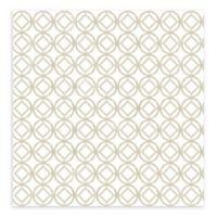 A-Street Prints Star Bay Geometric Wallpaper in Grey