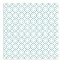 A-Street Prints Star Bay Geometric Wallpaper in Aqua