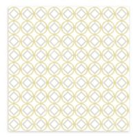 A-Street Prints Star Bay Geometric Wallpaper in Gold