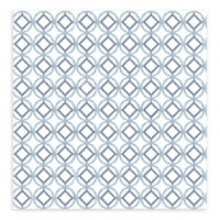 A-Street Prints Star Bay Geometric Wallpaper in Blueberry