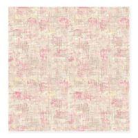 Avalon Weave Wallpaper in Pink
