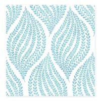 Arboretum Fern Wallpaper in Aqua