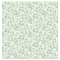 Elsie Floral Wallpaper in Teal