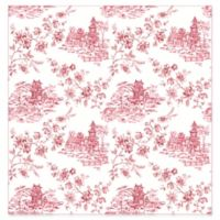 A-Street Prints Laure Tolie Wallpaper in Merlot