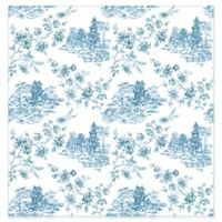 A-Street Prints Laure Tolie Wallpaper in Blueberry