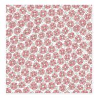 Allison Floral Wallpaper in Pink