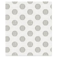 A-Street Prints Lise Medallion Wallpaper in Grey