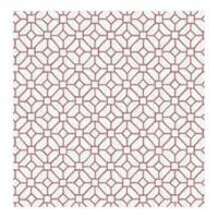 A-Street Prints Gigi Geometric Wallpaper in Plum
