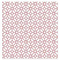 A-Street Prints Gigi Geometric Wallpaper in Ruby