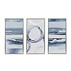 Madison Park Grey Surrounding Canvas Wall Art (Set of 3)