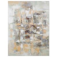 """""""Scraping Stone"""" Canvas Wall Art"""