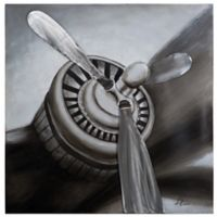 """Aviation"" Canvas Wall Art"