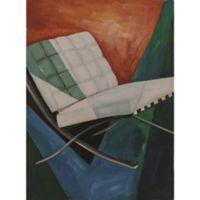 """Barcelona Chair"" Canvas Wall Art"