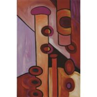 """""""Absolutely Abstract"""" Canvas Wall Art"""