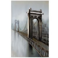 """""""Gateway to the City"""" Canvas Wall Art"""