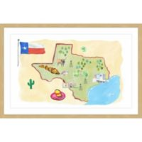 Marmont Hill Sun & Sand Texas 36-Inch x 24-Inch Framed Wall Art